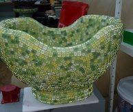 Курна с зелёной мозаикой