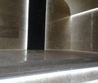 Освещение в хаммаме, объект в Карасьеозёрском-2