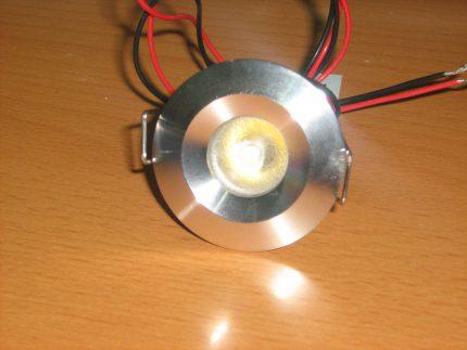 Точечный светильник для бани, сауны