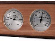 Термометр и гигрометр для финской сауны