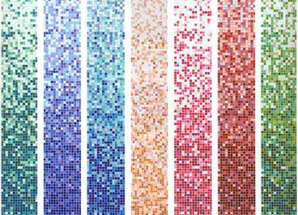 Варианты цветов мозаики для хаммама